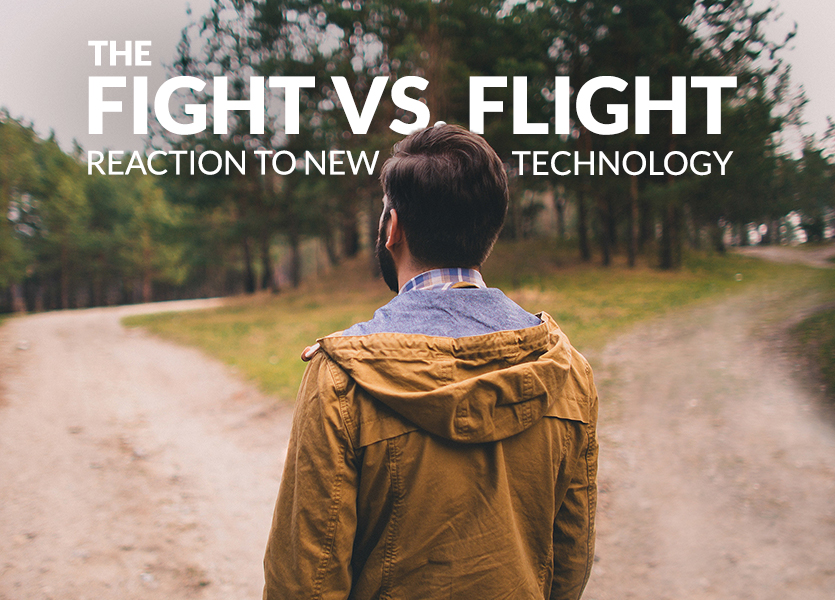 The Fight vs. Flight Reaction to New Technology