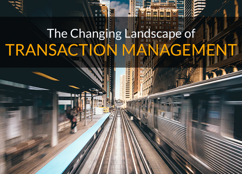The Changing Landscape of Transaction Management