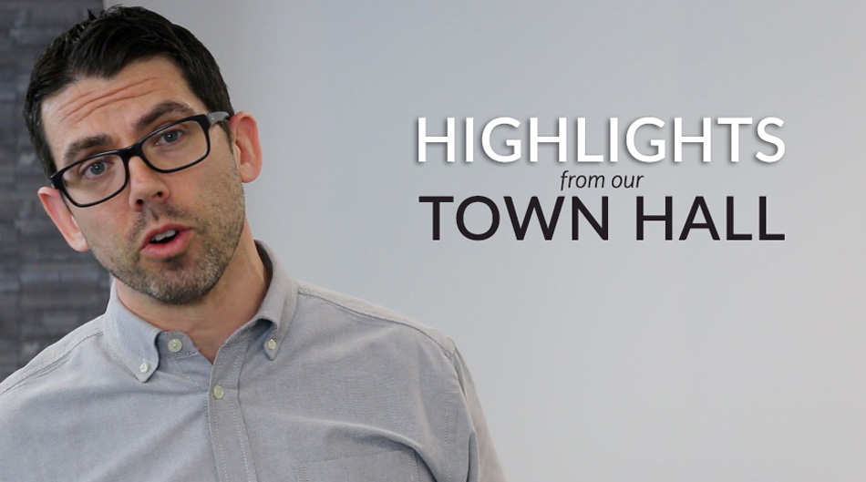 Town Hall Highlights