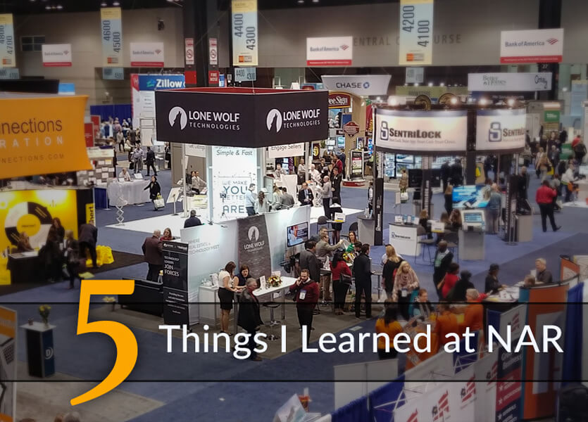 Five Things I Learned at #NARAnnual2017