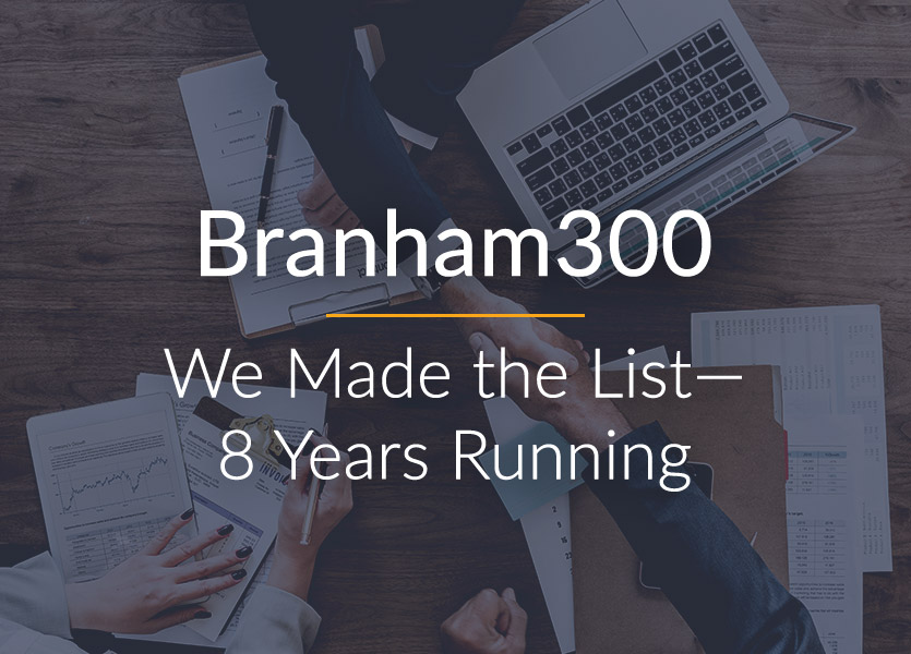 Branham300: We Made the List—8 Years Running!