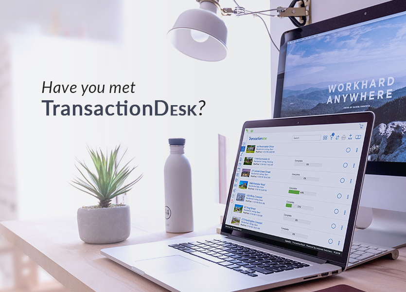 Have You Met TransactionDesk