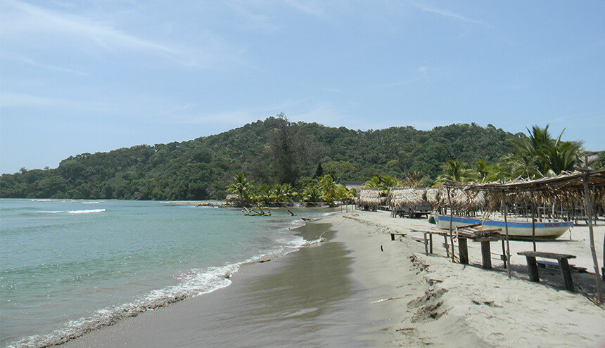 Beach in Honduras