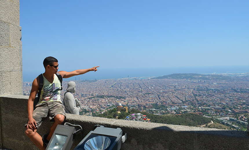 Travelling in Spain - Mount Tibidabo