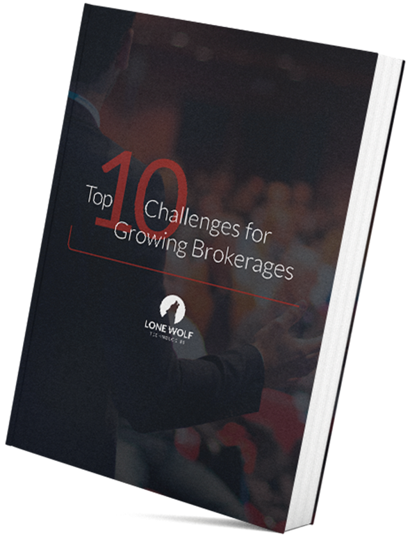 Top 10 Challenges for Growing Brokerages Book Mockup