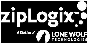 zipLogix White Logo