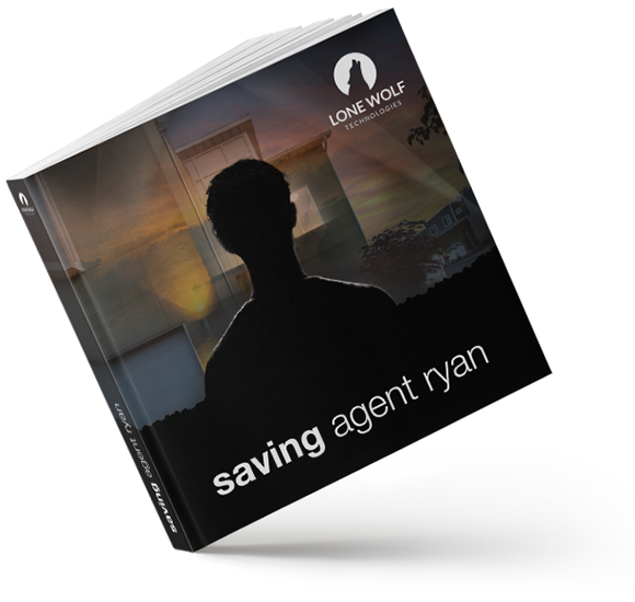 Saving Agent Ryan eBook mockup