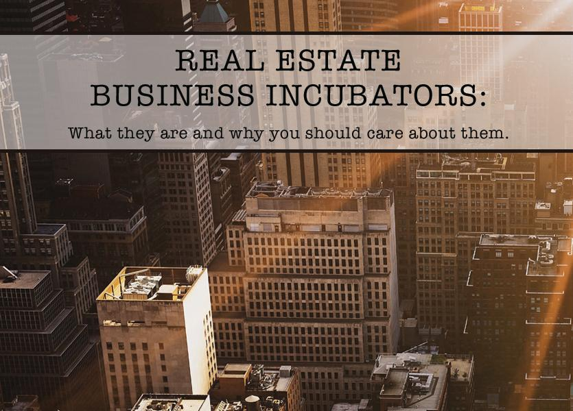 Real Estate Business Incubators: What they are and why you should care about them