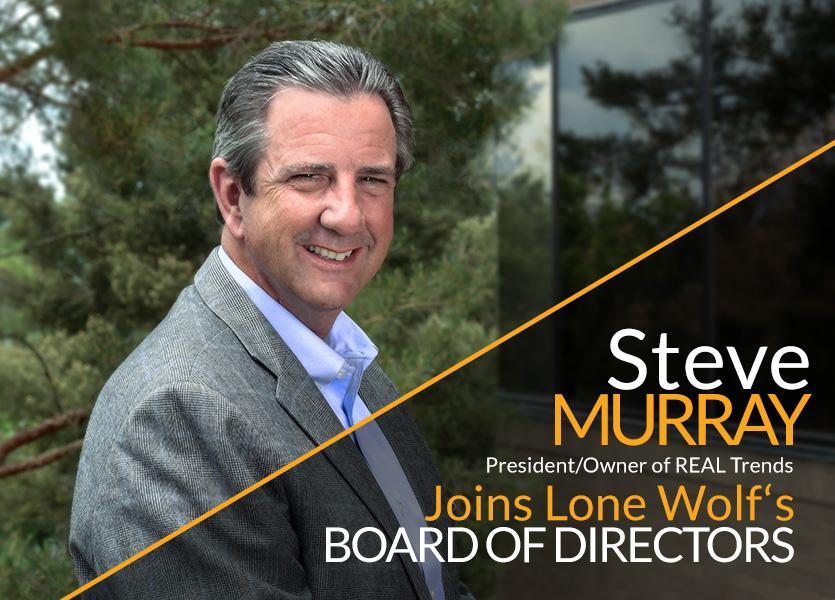 Steve Murray, President/Owner of REAL Trends, Joins Lone Wolf's Board of Directors