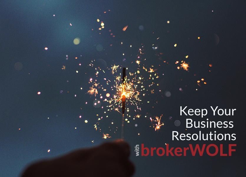 Keep Your Business Resolutions with brokerWOLF