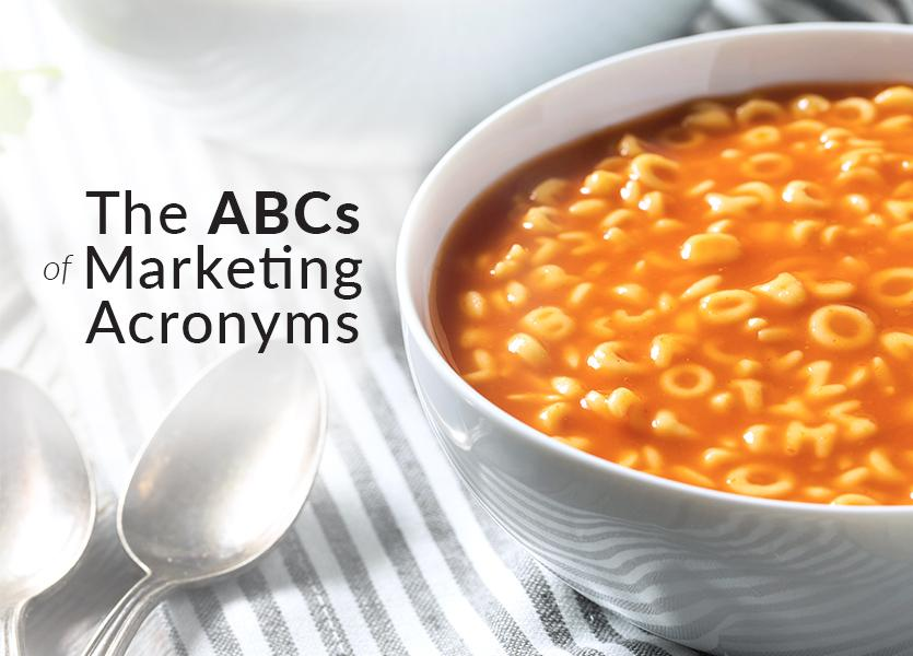 The ABCs of Marketing Acronyms for Real Estate Brokerages